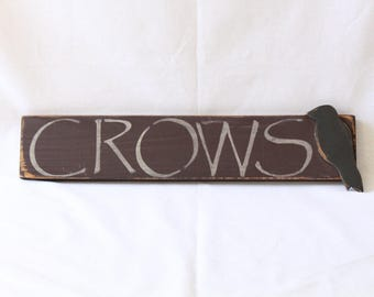 Crows Sign Artwork