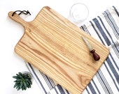 Charcuterie Board / Ash / Rectangle Paddle Board