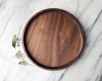 Wood Bathroom Tray Etsy