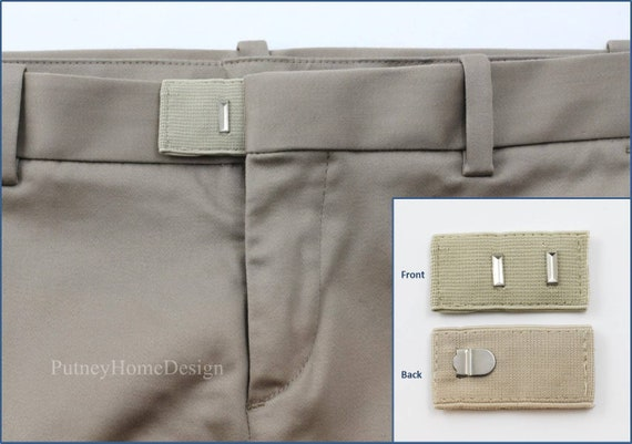 Khaki Pants Shorts Jeans Trouser Extension Expansion Enlarge Expander Waist Size