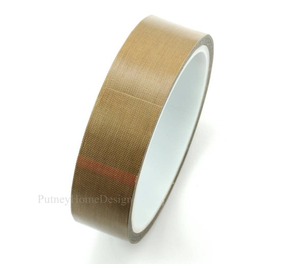 PTFE Teflon Adhesive Tape Nonstick 0.13mm x 25mm x 10m