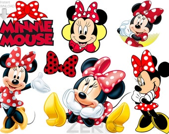 minnie clipart etsy rh etsy com minnie clipart png minnie clip art in black and white