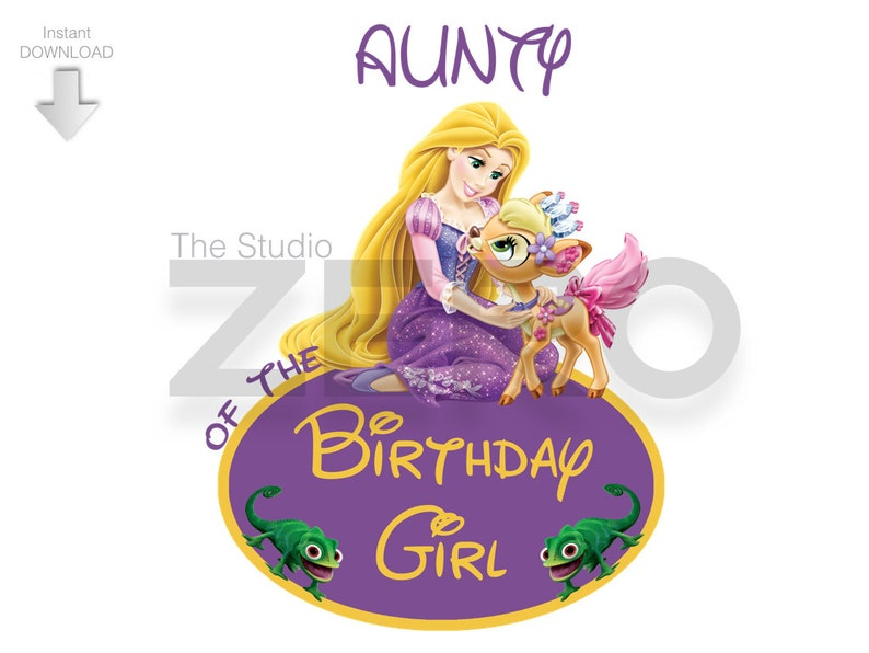 Tangled High Quality Clipart Digital Instant Download
