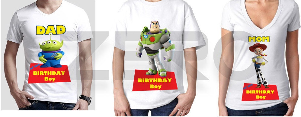 68c79ead Toy Story Clipart Birthday Boy Mom & Dad Clipart Digital | Etsy