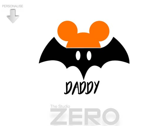 halloween mickey mouse halloween personalize halloween etsy rh etsy com Halloween Witch Clip Art Halloween Witch Clip Art
