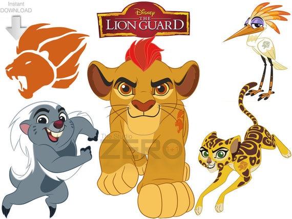 Disney Junior Lion Guard 11 PNG JPG Mirror Images