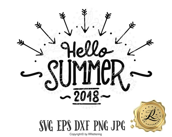 Summer Svg Files Sayings Boho Decor Svg Summer Quote Hello Etsy
