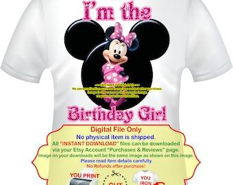 Birthday Girl Party Printables Instant Download Princess Birthday Iron On Transfer PRINCESSGROUP