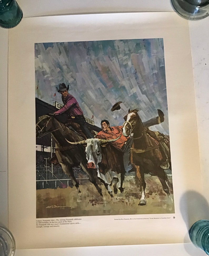Calgary Stampede 50th Birthday Great Moments in Canadian Sports#12