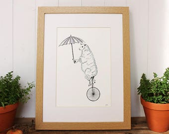 Sheep print (Unframed Print only), sheep gifts, Sheep Print, farm print