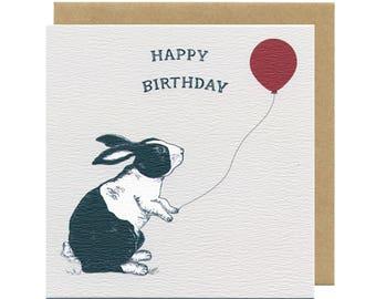 Bunny Birthday Card | Blank Card | Children's Birthday Cards |Dutch Rabbit