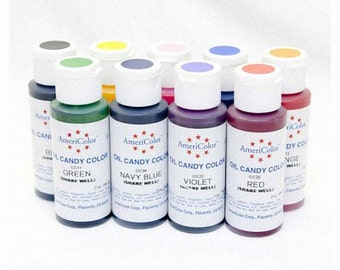 Americolor Oil Candy Color and Flo Coat