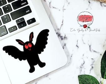 Mothman Sticker WV Cryptid Cryptid Sticker Mothman Wings Cryptid Decal Mothman Art Mothman Car Decal Cryptid Core CryptidCore