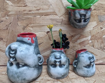 Wee Baby Head Planters