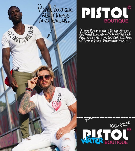 Water Pistol Boutique Kids Unisex Boys Girls GORILLA SUNGLASSES Black T-shirt