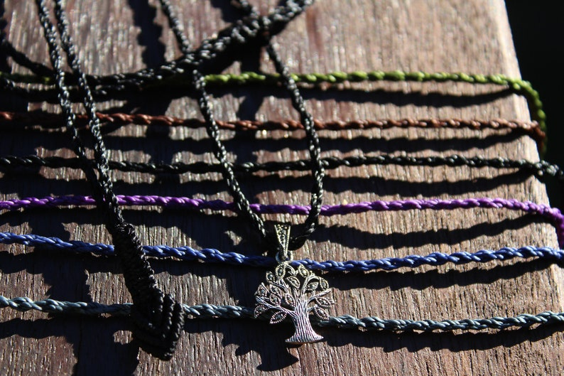 TREE OF LIFE Marcasite Jewelry,Sterling Silver Pendant Necklace,Pyrite Crystal Jewelry,Shibari Macrame Cord,Art Deco,Gemstone,elf cosplay,