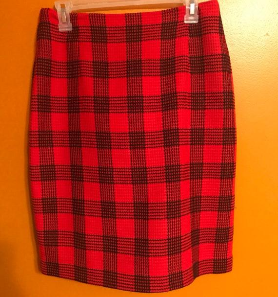 """High waist """"Clueless"""" checkered Skirt"""