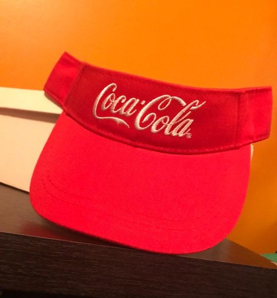 Vintage Coca Cola Sun Visor