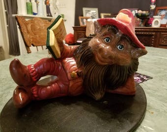 "Large ""Between the Worlds"" Fall Garden Gnome"
