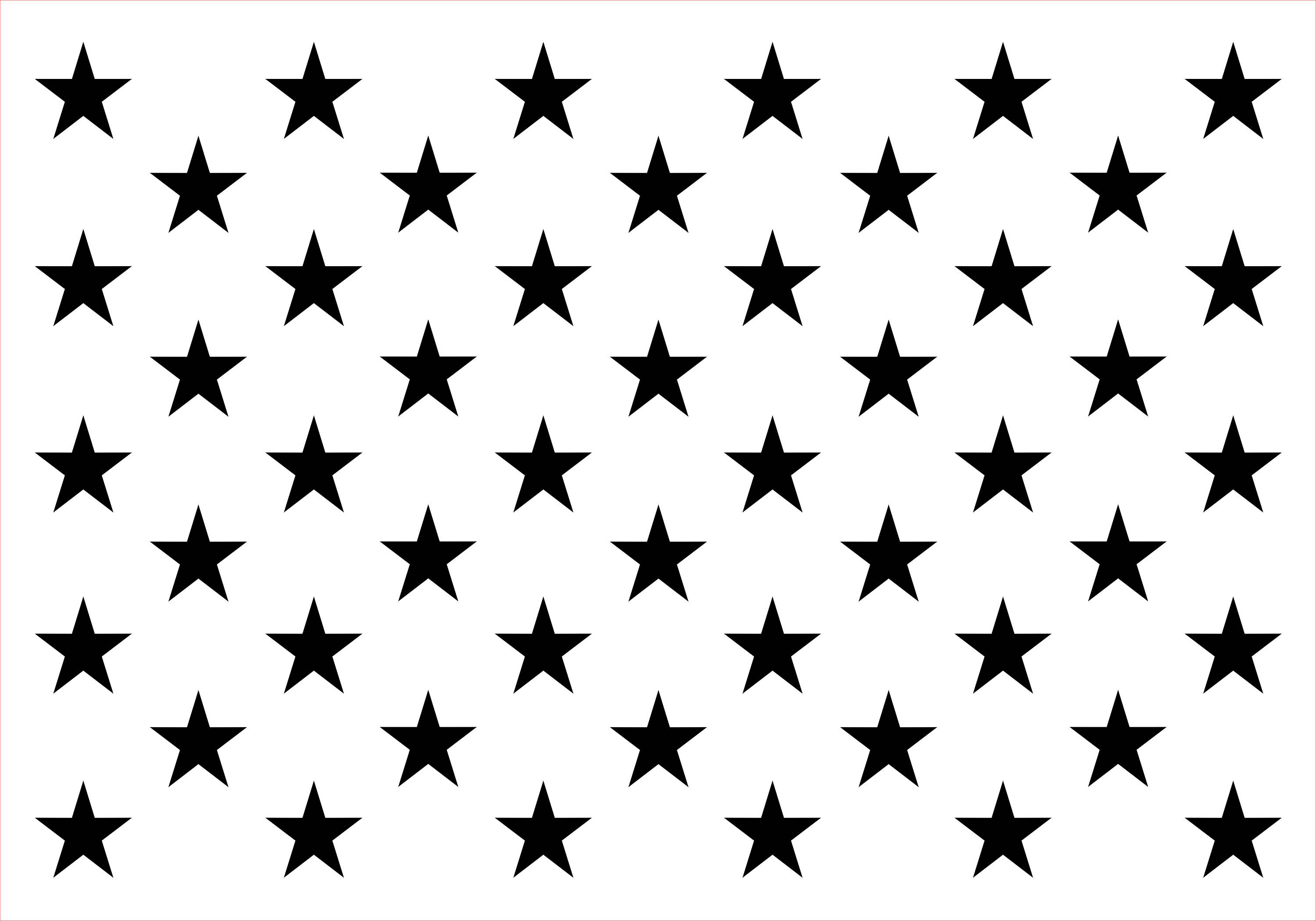 Modest image regarding american flag star template printable