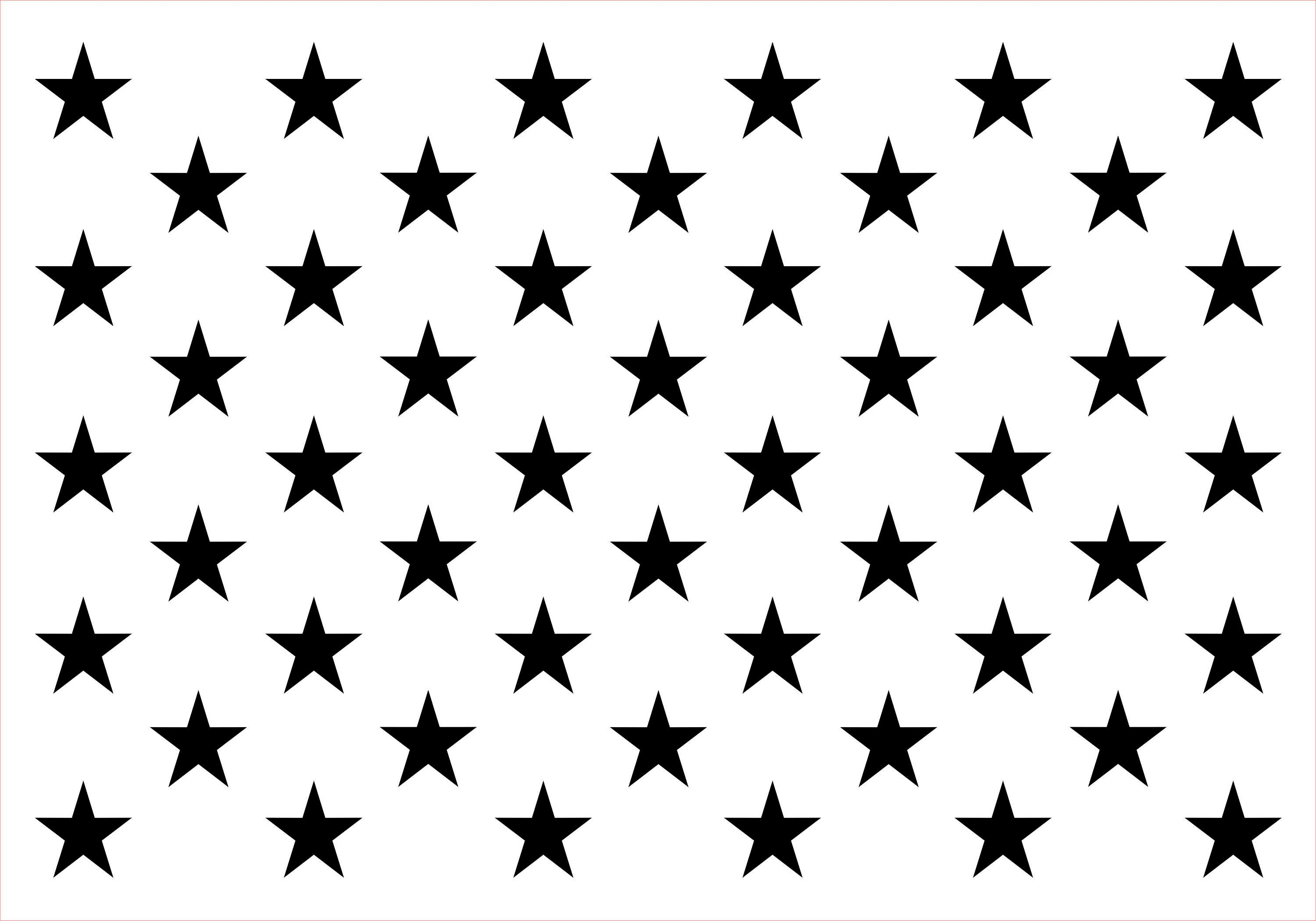 It is a graphic of Intrepid American Flag Star Template Printable