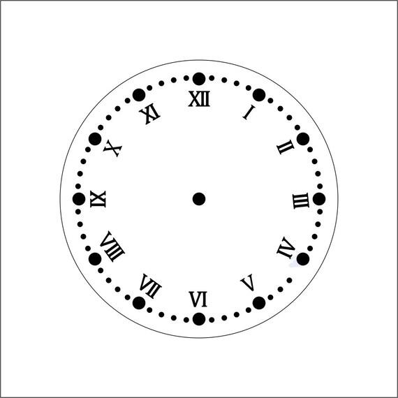 1 2 3 4 5 inch custom roman numerals 1 12 clock numbers etsy image 0 altavistaventures Image collections
