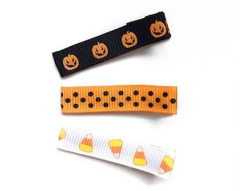 Set of 3 Halloween Clippies