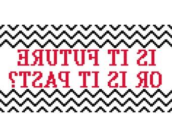 Twin Peaks Cross Stitch Pattern PDF