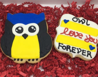 Owl Love You Forever Cookies Gift Set