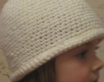 knitted hat for girl