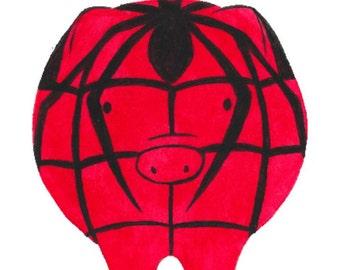 93734caf4 Spider Pig original