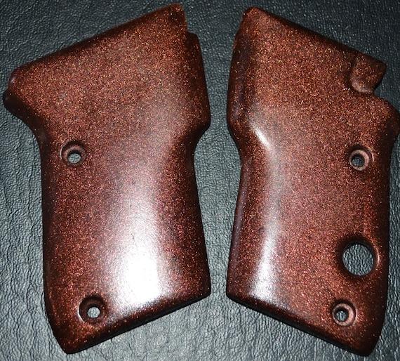 beretta 3032 tomcat pistol grips antique copper plastic etsy
