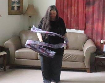 Prophetic - Silk Flag - Worship Flag - Praise Dance - Dyed Silk - 3 yard Streamer called Return to Me