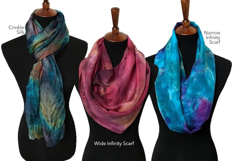 Prophetic  Silk Scarf  Prayer Silk  Gift for Women  Prayer image 0