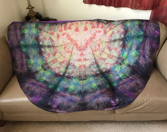 Prophetic - Silk Flag - Worship Flag - Praise Dance - Dyed Silk - Single Large Bendie Wing called A Living Testimony