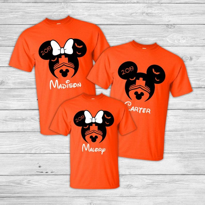Disney Halloween Shirts 2019.Halloween Disney Cruise Shirts Disney Matching