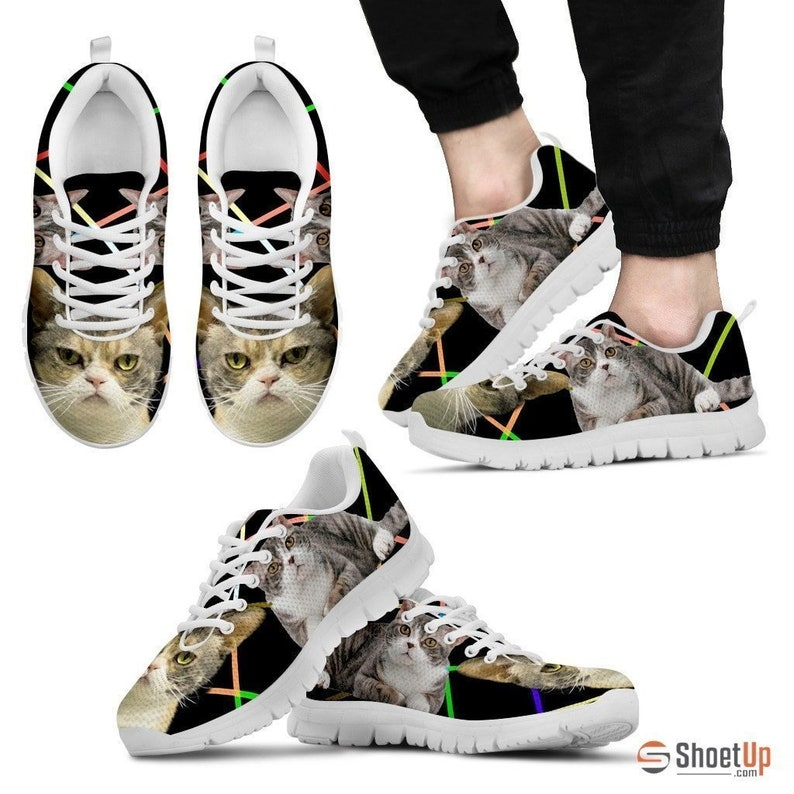 982c32d51dd81 American Wirehair Cat Running Shoes For Men-Free Shipping