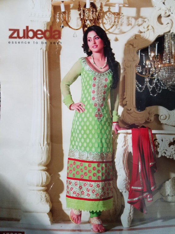 Green Salwar Kameez Bollywood Indian Dress Pakistan Dress Etsy