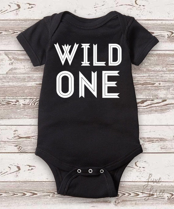 Wild One Boy Birthday Shirt 1st