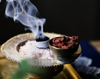 DIVINITY • Altar blessing incense • Universal Kyphi type blend for consecration, blessing, rituals and spell work