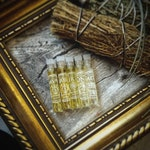 Bed of Moss - Perfume SAMPLE SET, a collection of green, mossy, earthy perfumes • Pagan • Ritual • Witchy • Natural Perfume