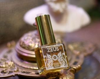 Zeus • Botanical ritual scent - Woody herbal, cedar, tarragon, thyme • Greek mythology • Hellenism