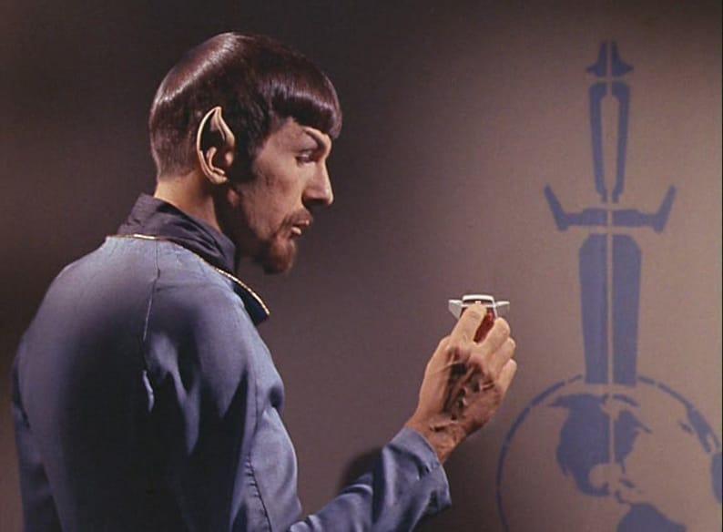 3D files for 3D printer Star Trek TOS mirror mirror Agonizer