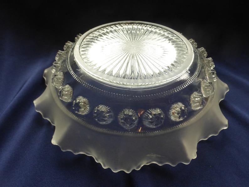 Gift Ideas Vintage Art Deco Dish Vintage Glass Fruit Bowl. Home Decor Vintage Fluted Glass Dish Vintage Home