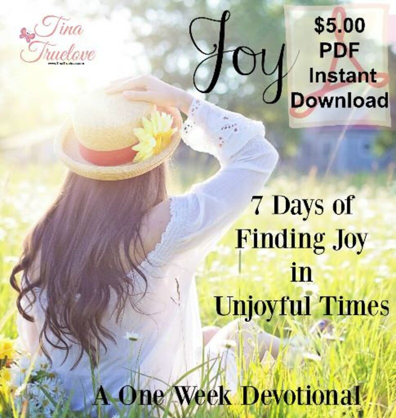 7 Days of Finding Joy  A One Week Devotional image 0