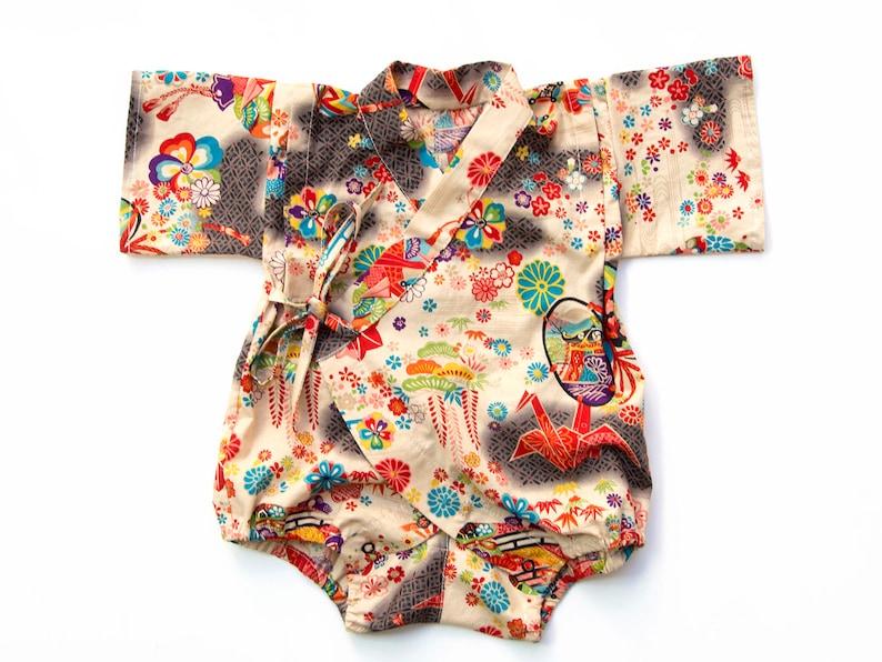 24d5ae09a Baby kimono romper baby romper new baby gift newborn gift | Etsy
