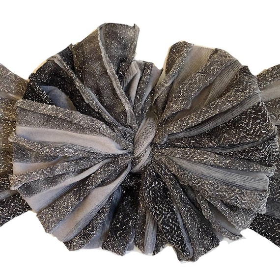 809cf67625c Tinsletown ruffle messy bow head wrap messy bows messy