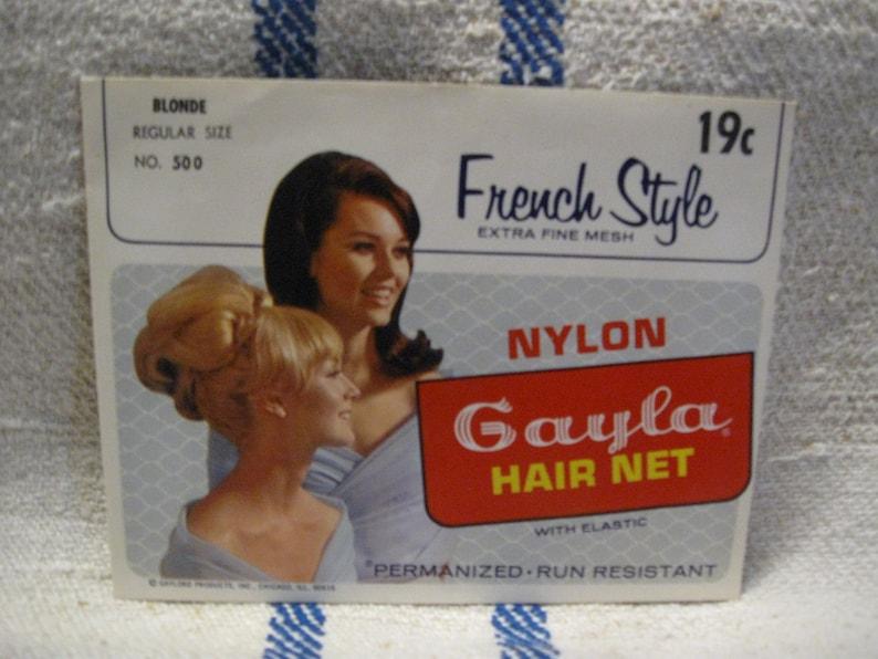 french style nylon  gayla hair net   1960