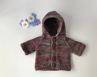 Hand Knit Doll Sweater