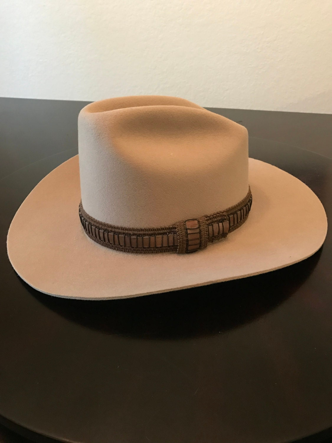 Vintage Levi s Cowboy Hat Rare 100% Wool Made in USA  f833e9d4a9a